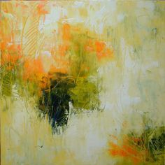 ELENA  abstract painting contemporary art 30x30 by ElenasArtStudio