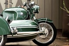 BMW motorcycle with