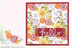 Card Art, Etc.: A Belle Flower Hello!