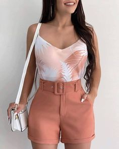 Source by juvenil femenina moda gorditas Belted Shorts Outfits, Bikini Outfits, Dress Outfits, Fashion Dresses, Trendy Summer Outfits, Short Outfits, Spring Outfits, Short Dresses, Cute Outfits