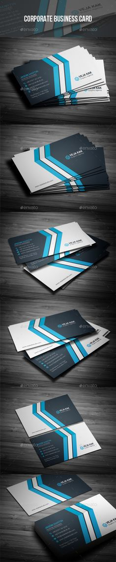 Corporate Business Card - Corporate Business Cards Download here : https://graphicriver.net/item/corporate-business-card/19483983?s_rank=148&ref=Al-fatih
