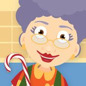 Grandma's Kitchen is an eclectic app for younger kids (ages 4-7). Kids can work on math skills including pattern recognition, recognizing numbers), reading a clock, and counting by ten. A huggable grandma leads kids through each activity. They'll also encounter literacy skills and even basic kitchen skills.
