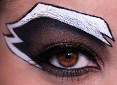Raccoon Makeup design | ... cool rocket raccoon themed eye makeup design head on over to siryn s