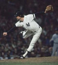 """Rich """"Goose"""" Gossage, premier closer in the 1970s, New York Yankees"""