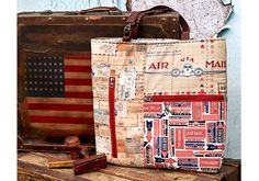 Air Mail Patchwork Z