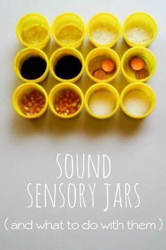 How to make your own sound sensory jars!