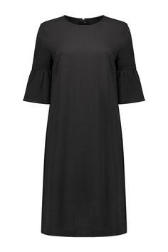 Ganni Dress Clark Black - F2173 1567 99
