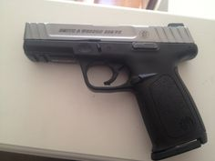 My Smith and Wesson SD9VE. 9mm 16+1.