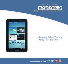 Papá merece una samsung Galaxy Tab 2 de 7 pulgadas. Costo del artículo puesto en El Salvador $230.60 http://amzn.com/B007P4VOWC