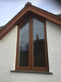 in Golden Oak windows and doors Golden Oak, Windows And Doors, Home Renovation, House, Haus, Home, Homes