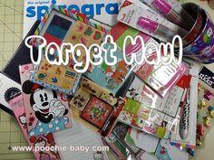 Target Haul: Planner Supplies - November 2014 - Poochie Baby #organize #haul #filofax #hobonichi #calendar