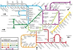 Creative Derivatives of the London Tube Map | Brain Pickings