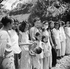 'Comfort women' - women and girls forced into a prostitution corps created by the Empire of Japan during World War II.