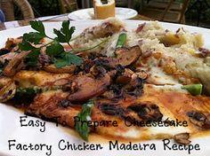 Easy to prepare cheesecake factory chicken madeira recipe! http://dcheesecakefactoryrecipes.blogspot.com/2012/06/easy-to-prepare-cheesecake-factory.html... #recipe #food