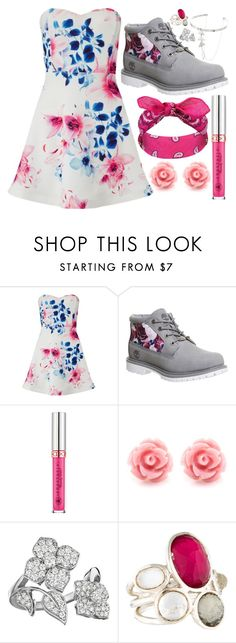 """""""Untitled #98"""" by vickyfang on Polyvore featuring Lipsy, Timberland, Penny Preville and Ippolita"""