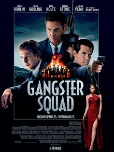 Gangster Squad poster, t-shirt, mouse pad Mickey Cohen, Squad, Gangster Films, Scary Stories To Tell, Josh Brolin, Audio Latino, Film Streaming Vf, Recent Movies, Tv Series Online