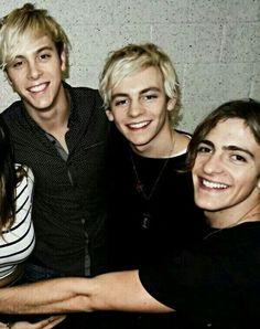 Riker Lynch,Ross Lynch and Rocky Lynch