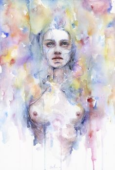 Emerged by agnes-cecile.deviantart.com on @deviantART | Want this for my apartment