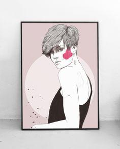 Plakat Kobieta I 50x70 cm, Pako Studio