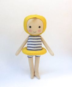 cloth doll in swimming costume swimming figure swimming by Lybo