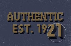 GMF: How to create Authentic Text Effect