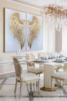 Angel Wings Art, Angel Wings Painting, Angel Wings Wall Decor, Angel Decor, Bild Gold, Texture Painting On Canvas, Textured Painting, Painting Abstract, Wing Wall