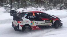 Rallye Sweden 2018 - Powerstage - SS19 - Ott Tänak - Jari-Matti Latvala ...