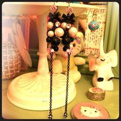 Betsy Johnson Flower Bow Dangle Earrings Betsy Johnson Flower Bow Dangle Earrings Betsey Johnson Jewelry Earrings