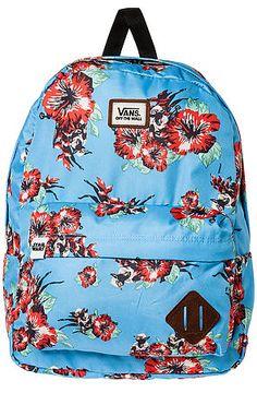 Vans Backpack The Old Skool II in Yoda Aloha Multi - Karmaloop.com