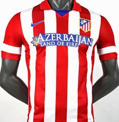 Tres temporadas duró patrocinio de Azerbaiyán en la camiseta del Atlético  de Madrid 3048ed26c70