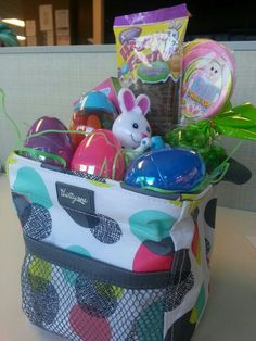 Littles Carry All Caddy as an Easter Basket! Awesome!