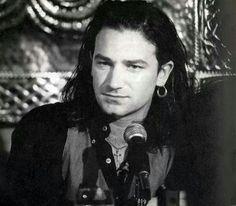 Your First Fake Boyfriend: Bono U2 Band, Zoo Station, Paul Hewson, Irish Rock, Larry Mullen Jr, Bono U2, Rock Of Ages, Looking For People, Music Icon