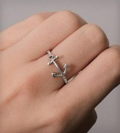Nautical Anchor Ring by Nautical Wheeler Jewelry on Scoutmob Shoppe