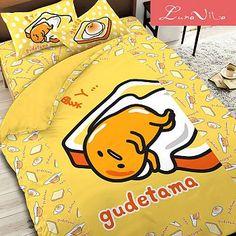 【Luna Vita】台灣製造正版授權卡通品牌涼被-150x180cm吐司蛋黃哥