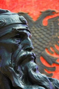 Albanian forefather, Skanderbeg. George Kastrioti Skanderbeg, commonly known as Skanderbeg, was a 15th-century Albanian nobleman. Skanderbeg was born in 1405 to the noble Kastrioti family.