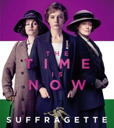 Suffragette: donne davanti e dietro la macchina da presa