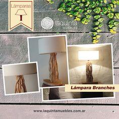 Te presentamos la Lámpara Branches, ¡te va a encantar! Presenta un diseño original, artesanal y único, en base al entrecruzamiento de ramas ¡La belleza de la naturaleza aplicada a las luminarias la encontrás en Laquinta Muebles!