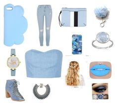 """Blue"" by didemm22 on Polyvore featuring STELLA McCARTNEY, River Island, Kate Spade, Valentino, rag & bone, Julien David, LULUS, Jeffrey Campbell, BillyTheTree and ASOS"
