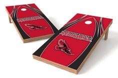 Southeast Missouri State Redhawks Cornhole Board Set - The Edge (w/Bluetooth Speakers)