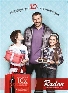 Radan - Dia dos Pais 2012 - anúncio