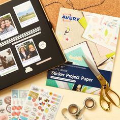 Avery Sticker Project Paper (3383) is perfect for creating a custom photo album. You can create your own designs using our free software, or choose from hundreds of free templates. Custom Photo Albums, Printable Designs, Holiday Gifts, Personalized Gifts, Create Your Own, Unique Gifts, Software, Templates, Stickers