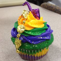 Cupcakes for next year's Mardi Gras :)