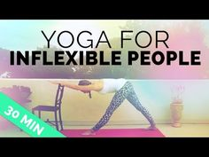 Yoga for Inflexible People: Yoga Sequence for Stiff Muscles, Aches & Pains (30-min) - YouTube  featuring InYo Giraffe Yoga Leggings