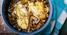 Savory Chicken And Mushrooms