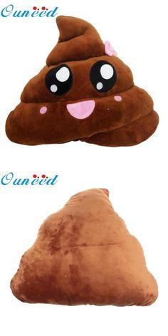 [Visit to Buy] Ouneed Funny Cute emoji pillow plush pillow coussin cojines emoji gato Cushion emoticonos smiley Pillows Stuffed Plush almofada #Advertisement