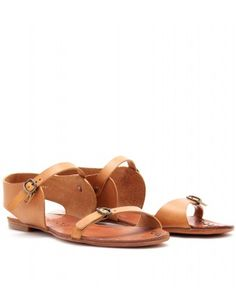 Gillian leather sandal.