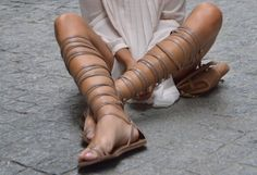 It's the summer of Love! And what better way to show some appreciation that strutting like a Greek Goddess in some pretty Gladiator sandals.......x