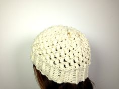 How to Loom Knit a Popcorn Hat (DIY Tutorial)