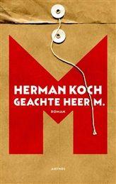 Geachte heer M.  Geachte heer M. is de nieuwe roman van Herman Koch, internationaal bestsellerauteur van onder andere Het diner en Zomerhuis met zwembad. In Geachte heer M. neemt Koch de wereld van het onderwijs en de literatuur op de hak, waarbij hij met zijn scherpe blik niets en niemand ontziet. http://www.bruna.nl/boeken/geachte-heer-m-9789041415608