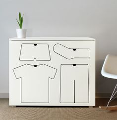 Cool dresser for kids. #dresser #house #kids